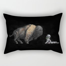 Nocturnal Encounters II Rectangular Pillow