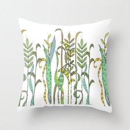 Summer Grass Throw Pillow