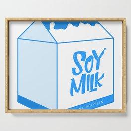 soy milk Serving Tray