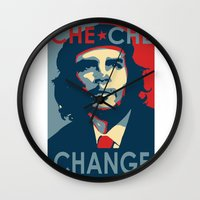 che Wall Clocks featuring CHE CHE CHANGE by MDRMDRMDR