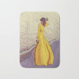 Mellow Yellow Windy Day Bath Mat
