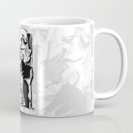 Chapter One: Never Talk with Strangers - b&w Coffee Mug