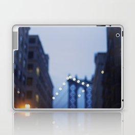 Manhattan Bridge at Night II Laptop & iPad Skin