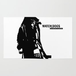 Watch dogs (aiden pearce) Rug