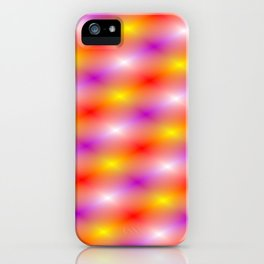 The lights of show business iPhone Case