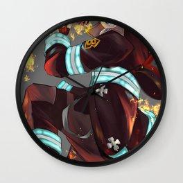 Fire Force Shinra Chibi Wall Clock