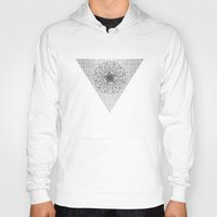 pyramid Hoodies featuring Pyramid by MJ Mor