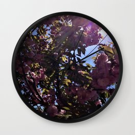 That's Spring in Brooklyn Wall Clock