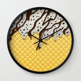 Cookie Ice Cream Wall Clock