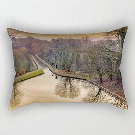 Chirk Aqueduct Rectangular Pillow