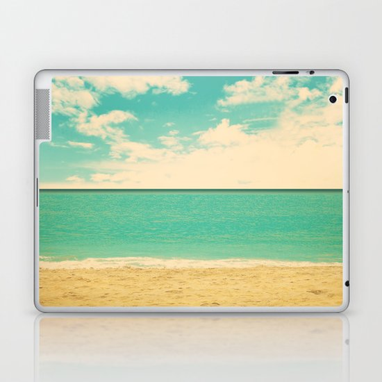 Retro Beach Laptop & iPad Skin