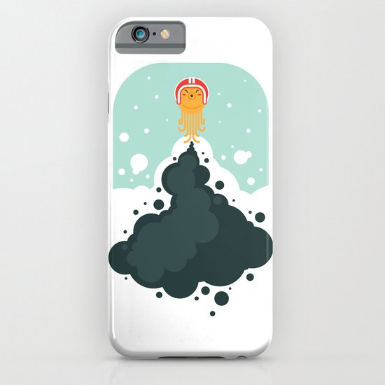 Rocket Octopus iPhone & iPod Case