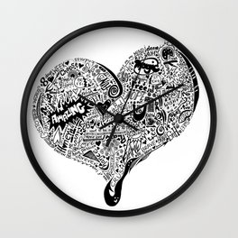 Heartfull Wall Clock