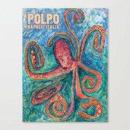 Polpo: Octopus of Naples Canvas Print
