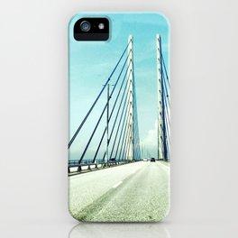 Bridge between countries iPhone Case