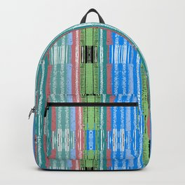 Lines Reed Blue Backpack