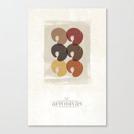 The Afro Divas Canvas Print