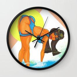 """Cleo Warmth"" Wall Clock"