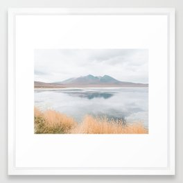 Mountainous Reflections - Landscape Photography Framed Art Print