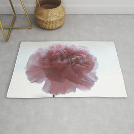 Pink Carnation Rug