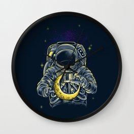 Moon Keeper Wall Clock