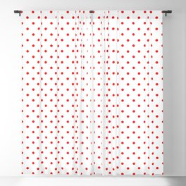 Red dots Blackout Curtain