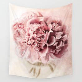 peonies /Agat/ Wall Tapestry