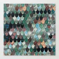SUMMER MERMAID SEAWEED MIX by Monika Strigel Canvas Print