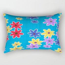 Floral Pattern New Rectangular Pillow