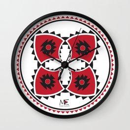 Bulgarian Folklore Inspired Design - KANATITSA Wall Clock