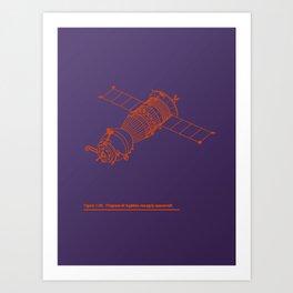 Vector Soyuz! Art Print