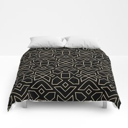 Islamic-African Geometric Pattern Comforters
