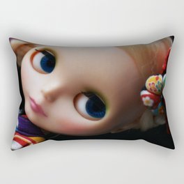GEISHA BLYTHE DOLL KENNER Rectangular Pillow