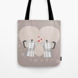 Love Moka Tote Bag