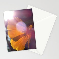 Sunlit Flower Stationery Cards
