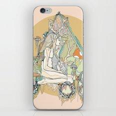 orange mushroom iPhone & iPod Skin