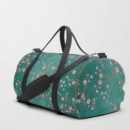 SAKURA LOVE - GREEN Duffle Bag