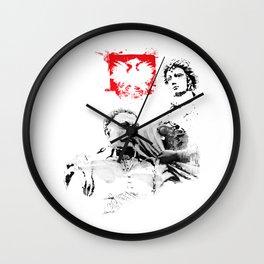 Polish King Jan III Sobieski & Marysienka Wall Clock