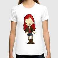 amy pond T-shirts featuring AMY by Space Bat designs
