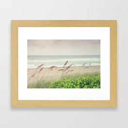 Beachy Framed Art Print
