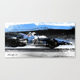 Jacky Stewart Matra Ford MS10 1969 Canvas Print