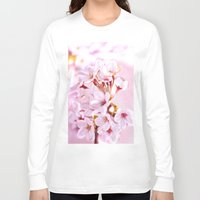 sakura Long Sleeve T-shirts featuring Sakura by Manny D