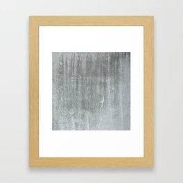 CONCRETE Framed Art Print