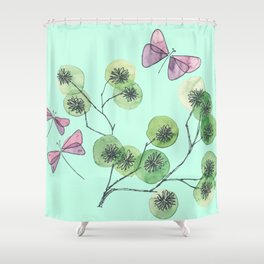 a touch of summer fragrance Shower Curtain