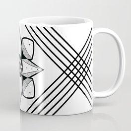 Spaced Out Mandala Coffee Mug