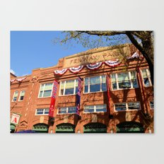 Fenway Spring - Fenway Park in Boston on Opening Day, Red Sox Canvas Print