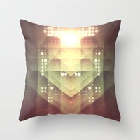 dreamer Throw Pillows featuring Dreamer by Jesse Rather