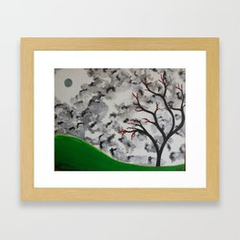 Serene Autumn Framed Art Print