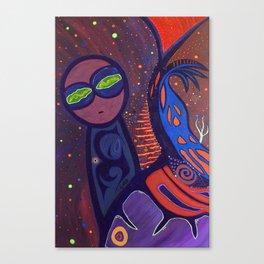ONO (MACONDO GALAXY) Canvas Print