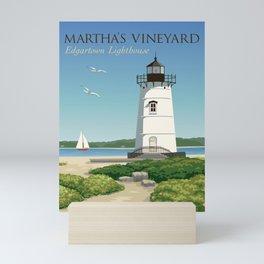 Martha's Vineyard Edgartown Lighthouse Mini Art Print